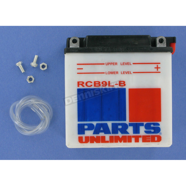 Parts Unlimited Heavy Duty 12-Volt Battery - RCB9LB