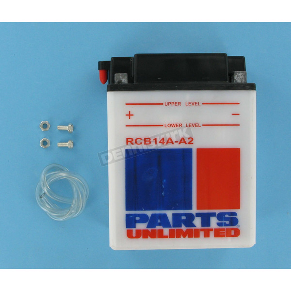 Parts Unlimited Heavy Duty 12-Volt Battery - RCB14AA2