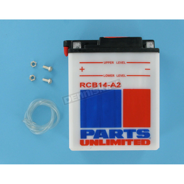 Parts Unlimited Heavy Duty 12-Volt Battery - RCB14A2