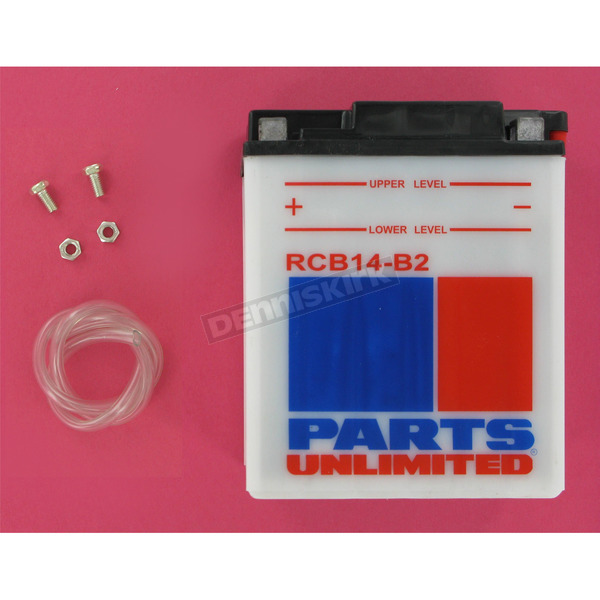 Parts Unlimited Heavy Duty 12-Volt Battery - RCB14B2