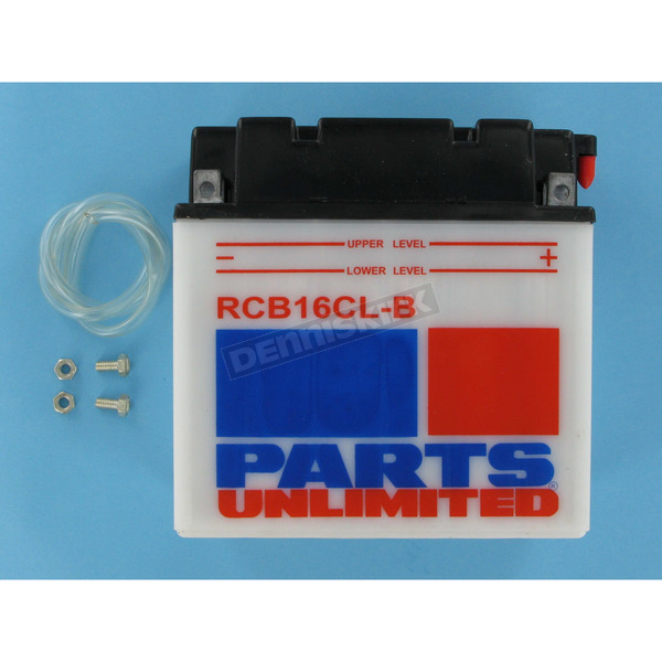 Parts Unlimited Heavy Duty 12-Volt Battery - RCB16CLB