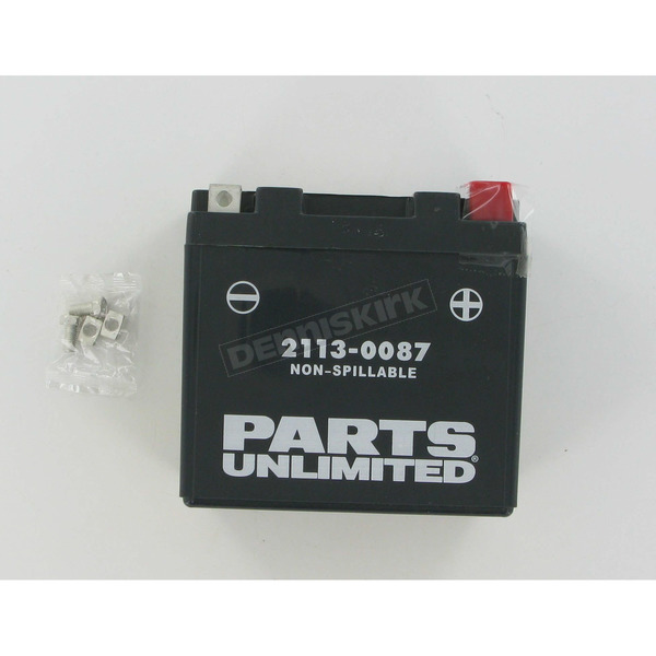 Parts Unlimited AGM Maintenance Free 12-Volt Battery - 21130087