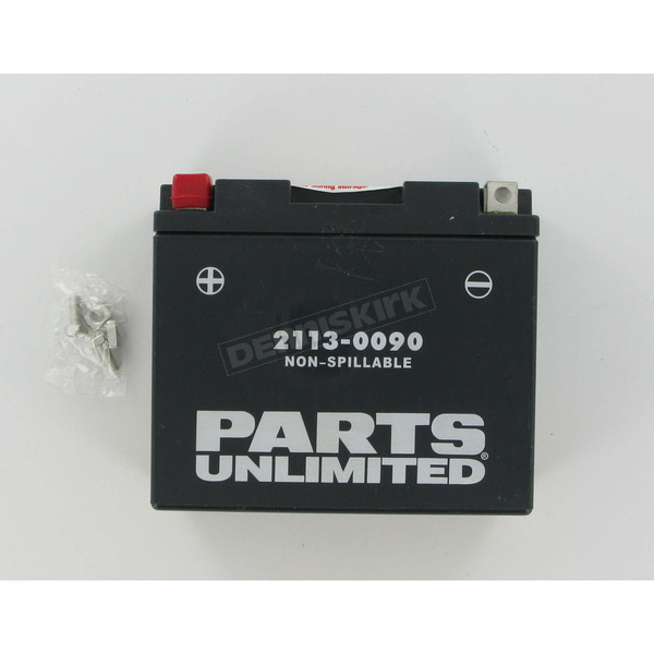 Parts Unlimited AGM Maintenance Free 12-Volt Battery - 21130090