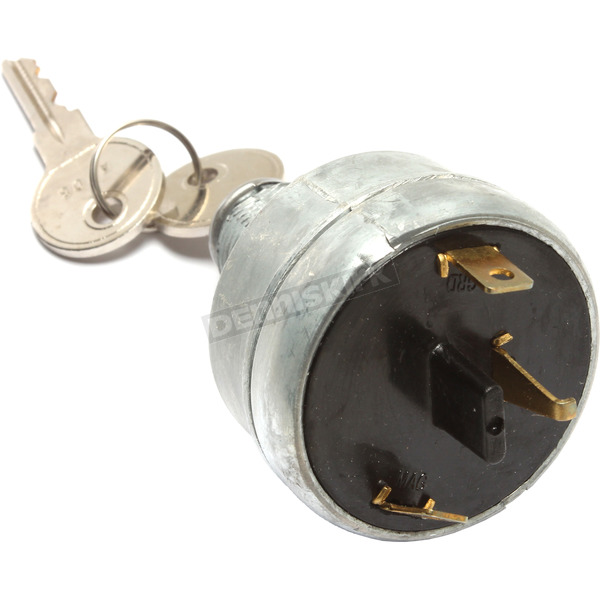 K & S OEM-Style Ignition Switch - 40-1007G