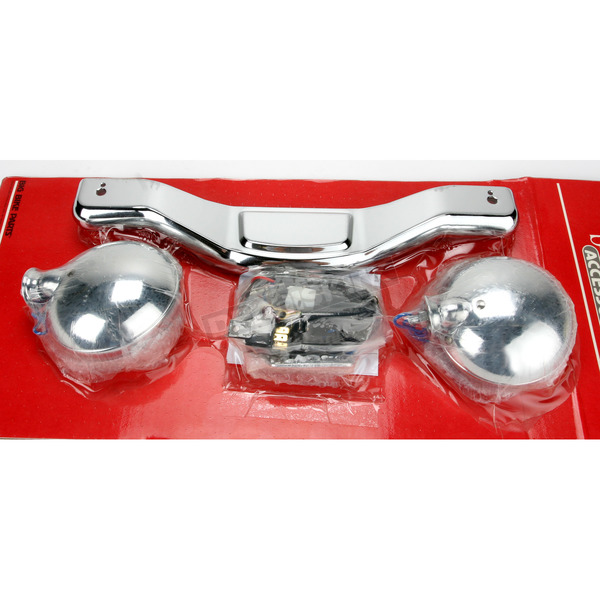 Show Chrome 4 1/2 in. Contour Driving Light Kit - 63312