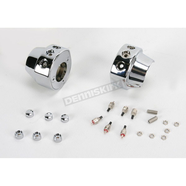 Hawg Halters 3-Button Switch Housing Assembly - HSHA3CLR