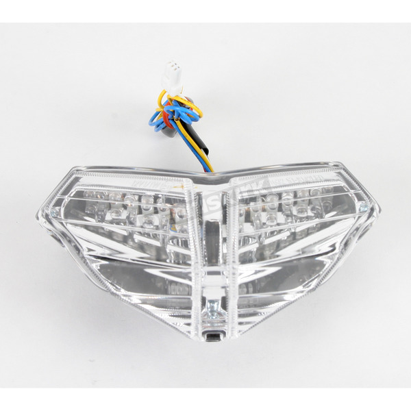 Light Werkes Light Werkes Clear Integrated Taillights - TL-D1098-C