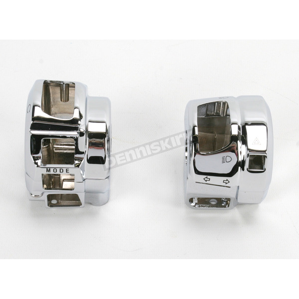 Kuryakyn Chrome Switch Housing - 8714