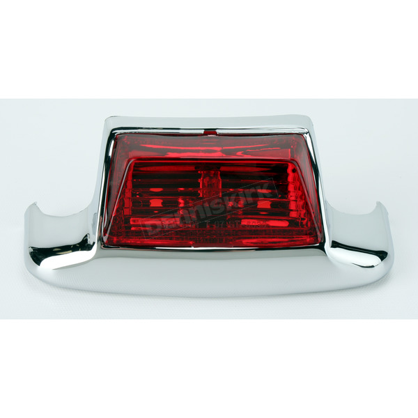 Drag Specialties Rear Fender Tip Light w/Red Lens - 2040-0580