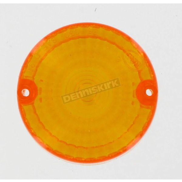 K & S Replacement Amber Lens - 25-1050
