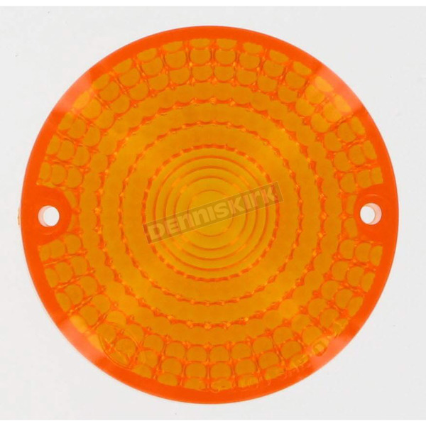 K & S Replacement Amber Lens - 25-1100