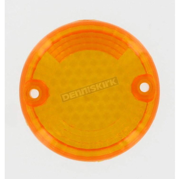 K & S Replacement Amber Lens - 25-3030