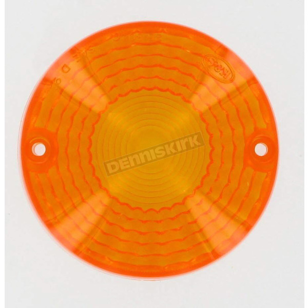 K & S Replacement Amber Lens - 25-3040
