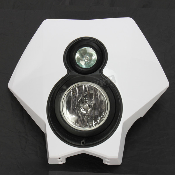 Trail Tech White X2 Headlight - 36T1A-70