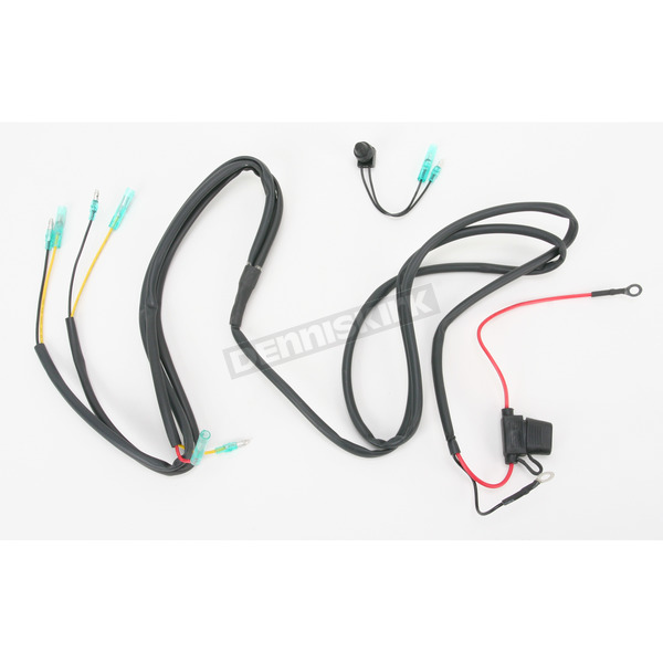 Trail Tech Wire Harness for Trail Tech SC4, MR16 and LED Lights - 040-WH7A