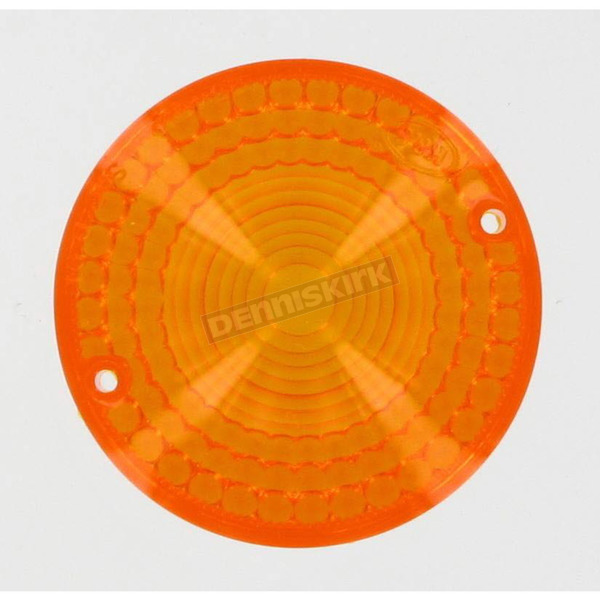 K & S Replacement Amber Lens - 25-4010