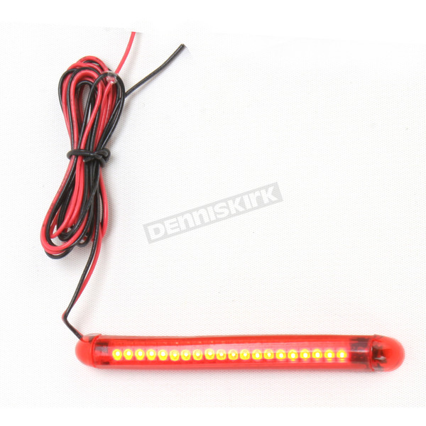 Custom Dynamics TruFLEX 20-Red LED with Red Tubing Professional Grade Flexible Lighting Strip - TF20RR