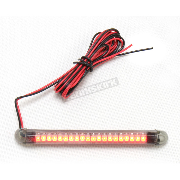 Custom Dynamics TruFLEX 20-Red LED with Smoke Tubing Professional Grade Flexible Lighting Strip - TF20RS