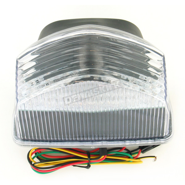 Advanced Lighting Integrated Taillight w/Clear Lens - TL-0119-IT