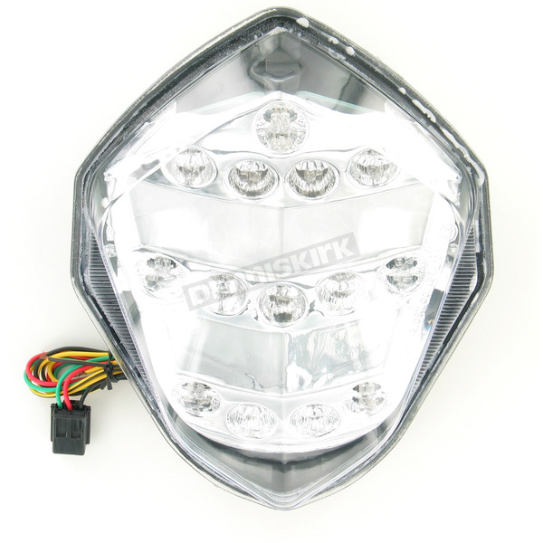 Advanced Lighting Integrated Taillight w/Clear Lens - TL-0309-IT