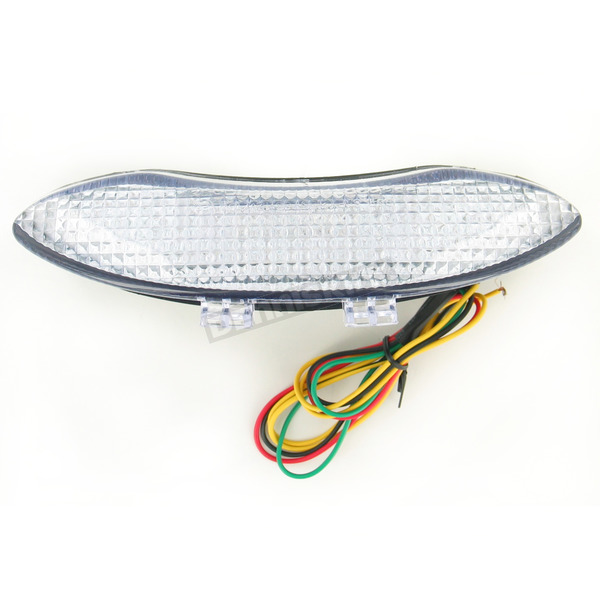 Advanced Lighting Integrated Taillight w/Clear Lens - TL-0905-IT