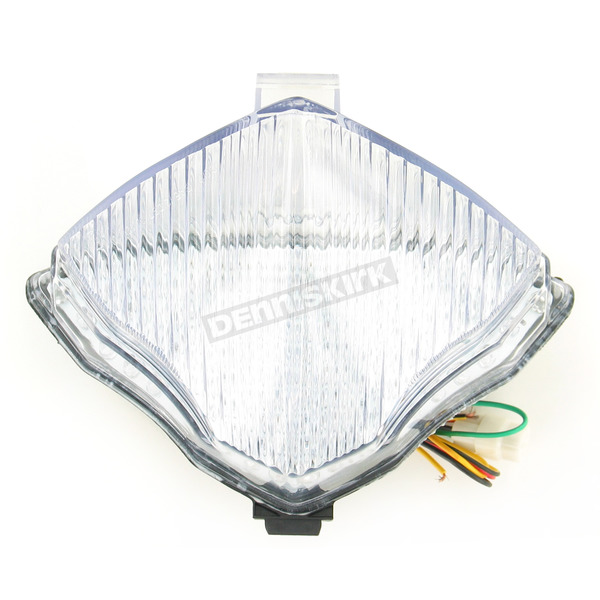 Advanced Lighting Integrated Taillight w/Clear Lens - TL-0010-IT
