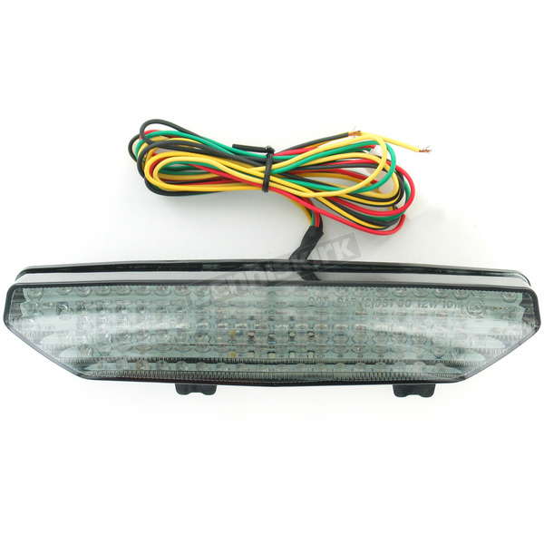 Advanced Lighting Integrated Taillight w/Smoke Lens - TL-0219-IT-S