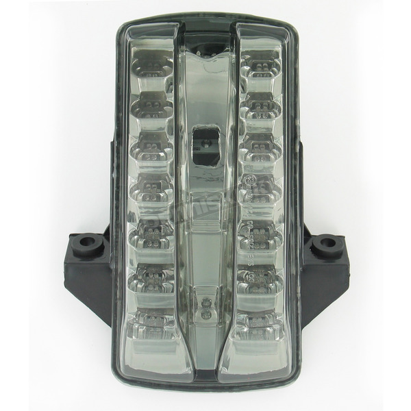 Advanced Lighting Integrated Taillight w/Smoke Lens - TL-0315-IT-S