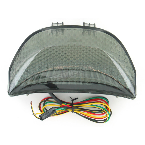Advanced Lighting Integrated Taillight w/Smoke Lens - TL-0114-IT-S