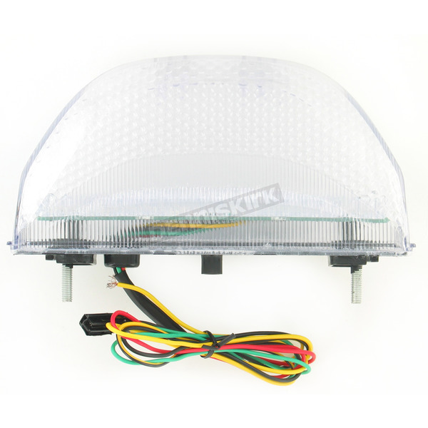 Advanced Lighting Integrated Taillight w/Clear Lens - TL-0114-IT
