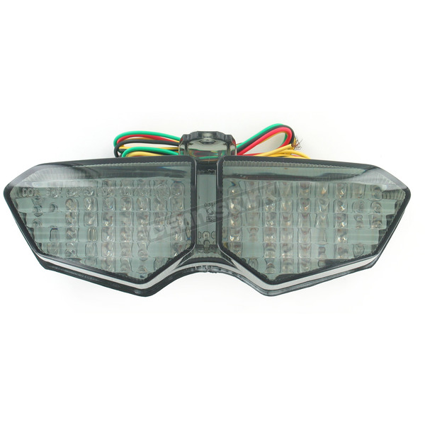 Advanced Lighting Integrated Taillight w/Smoke Lens - TL-0008-IT-S