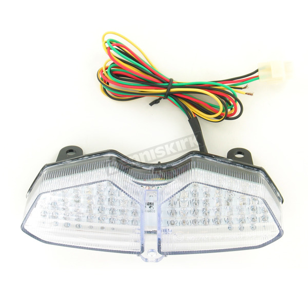 Advanced Lighting Integrated Taillight w/Clear Lens - TL-0008-IT