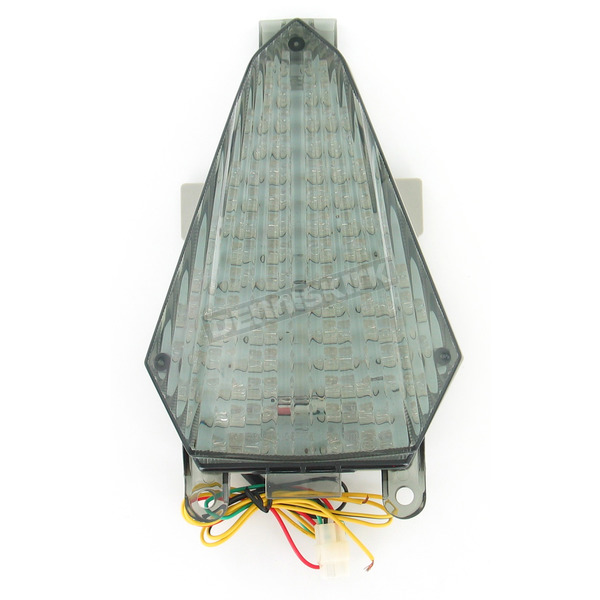 Advanced Lighting Integrated Taillight w/Smoke Lens - TL-0019-IT-S