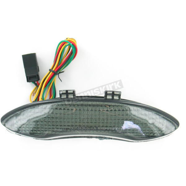 Advanced Lighting Integrated Taillight w/Smoke Lens - TL-0905-IT-S