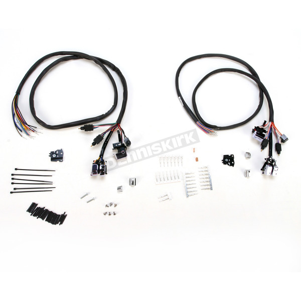 V-Factor Chrome L.E.D. Handlebar Switch Wiring Kit - 12023