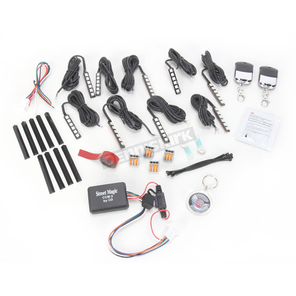 Street Magic Magical Wizard Light Full Sport Bike Kit - TMWK3