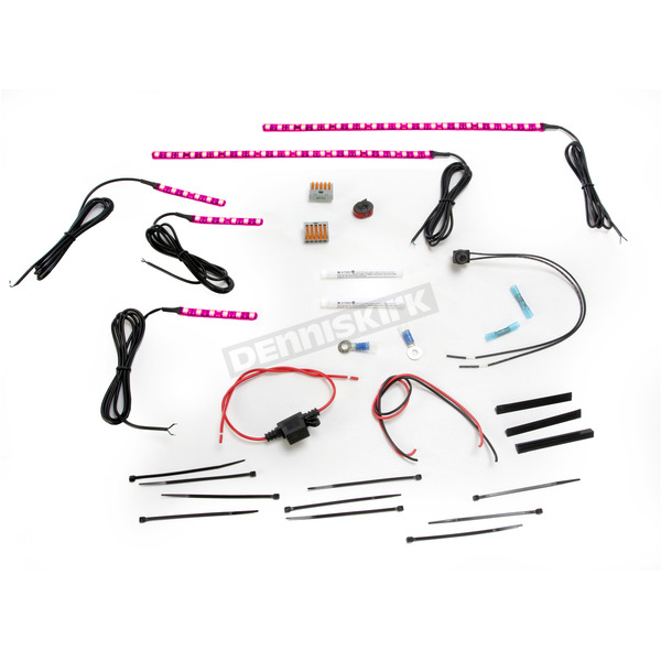 Custom Dynamics Magicflex® 2 Cruiser Pink LED Engine Kit - M2EK1PINK