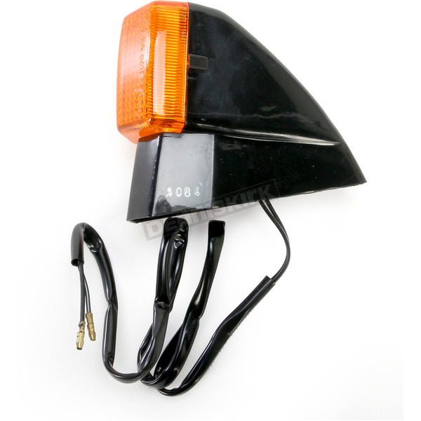 K & S DOT Approved Turn Signals w/Amber Lens - 25-1084