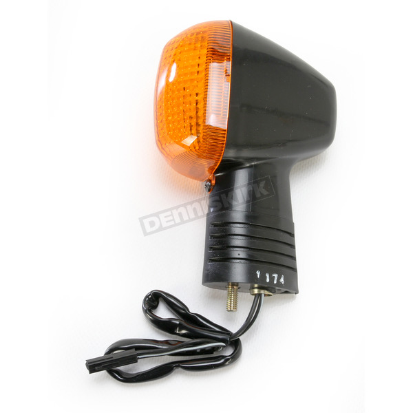 K & S DOT Approved Turn Signals w/Amber Lens - 25-1174