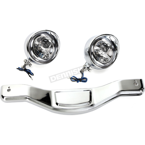 Show Chrome LED Contours Light Bar - 63-203L