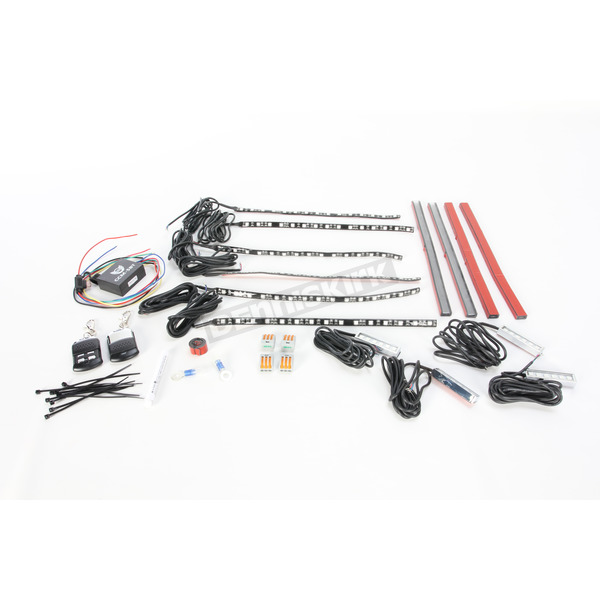 Custom Dynamics Magical Wizard Full Engine Lite Kit w/Bluetooth Color Command 5 LED Remote Control - TMWK2BM