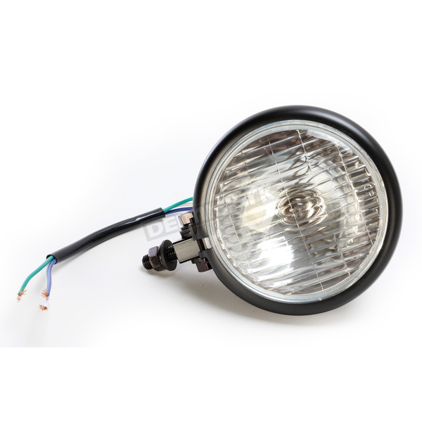 Emgo Old Style Chopper 4 1/2 in. Spot Lamp - 66-84121B
