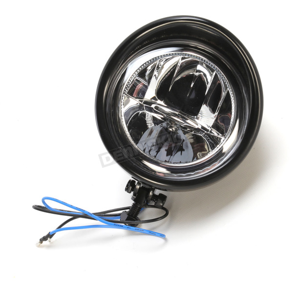 Show Chrome Accessories 3 1/2 in. Black LED Driving Light - 16-39BK