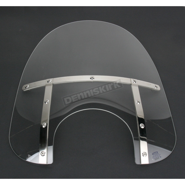 Memphis Shades Memphis Fats 21 in. Clear Windshield for 9 in. Headlight - MEM3810