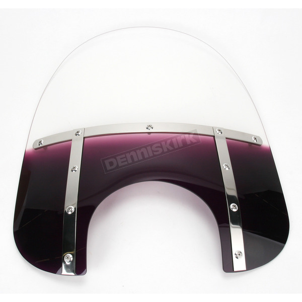 Memphis Shades Memphis Fats 19 in. Windshield for 9 in. Headlight - MEM3714