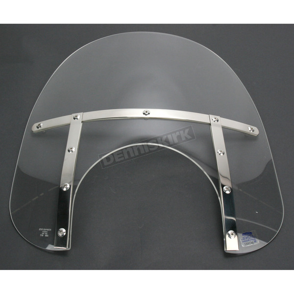 Memphis Shades Memphis Fats 15 in. Windshield with 11 in. Headlight Cutout - MEM6710