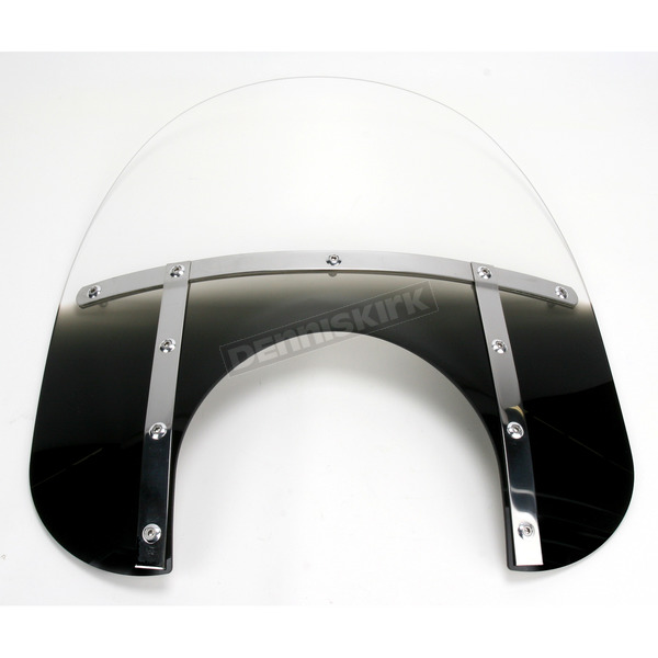 Memphis Shades Memphis Fats 15 in. Windshield with 11 in. Headlight Cutout - MEM6711