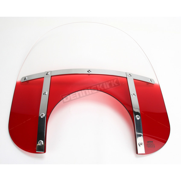 Memphis Shades Memphis Fats 15 in. Windshield with 11 in. Headlight Cutout - MEM6712