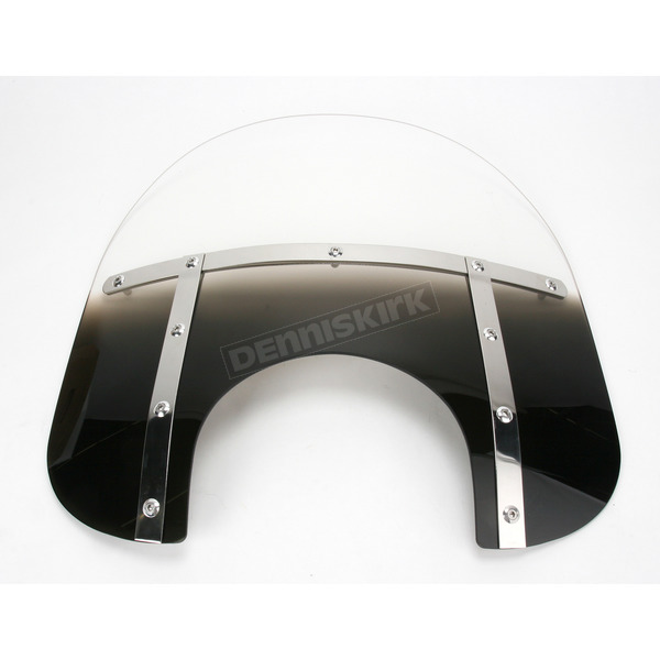 Memphis Shades Memphis Fats 15 in. Windshield for 9 in. Headlight - MEM3521