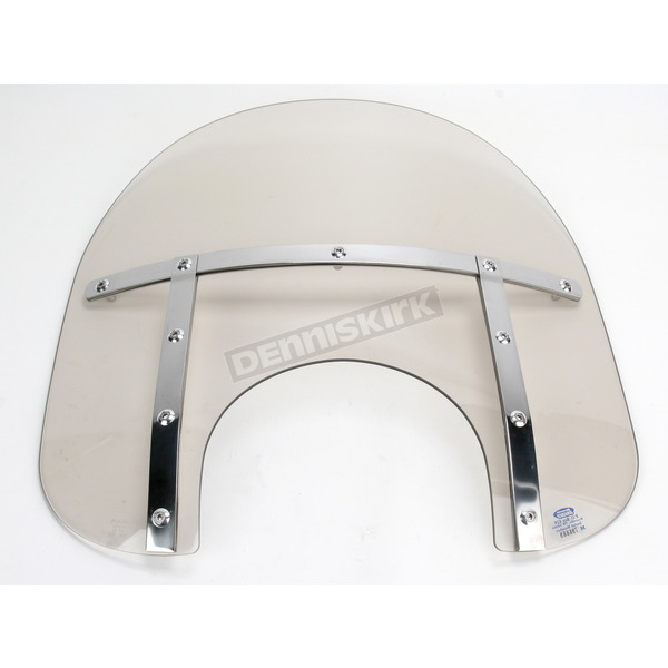 Memphis Shades Memphis Fats 15 in. Windshield for 9 in. Headlight - MEM3529